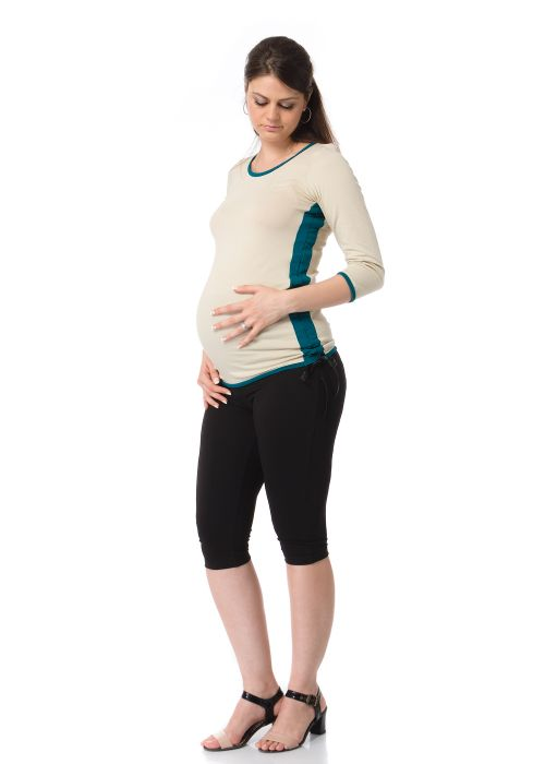 Ladies' 3/4 sleeve blouse for pregnant