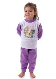 Kids' winter wadded woven pyjamas