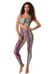 Ladies' long leggings zumba